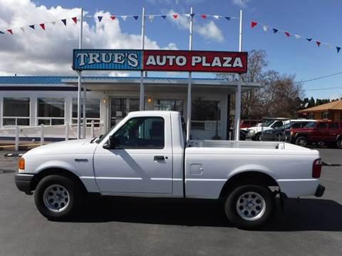 2003 Ford Ranger for sale at True's Auto Plaza in Union Gap WA