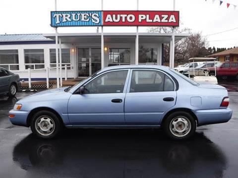 1996 Toyota Corolla for sale at True's Auto Plaza in Union Gap WA