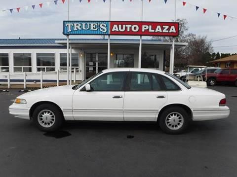 1997 Ford Crown Victoria for sale at True's Auto Plaza in Union Gap WA