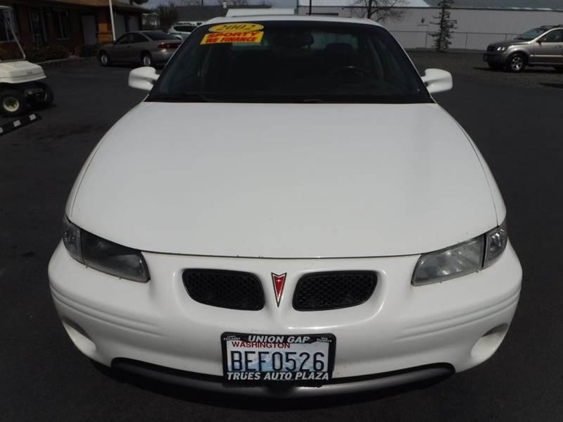 2002 Pontiac Grand Prix for sale at True's Auto Plaza in Union Gap WA