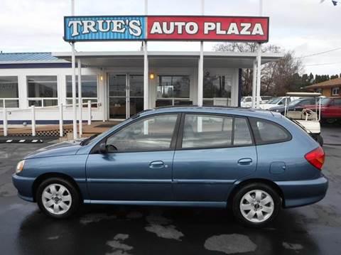 2002 Kia Rio for sale at True's Auto Plaza in Union Gap WA