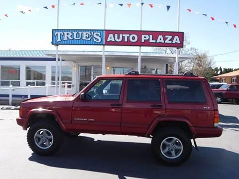 1999 Jeep Cherokee for sale at True's Auto Plaza in Union Gap WA