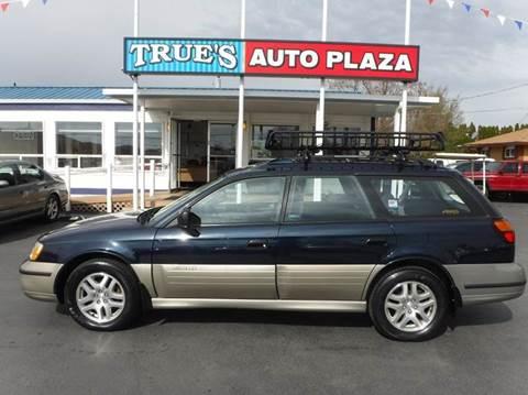 2002 Subaru Outback for sale at True's Auto Plaza in Union Gap WA