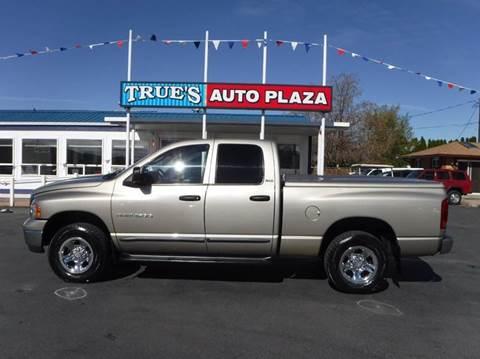 2002 Dodge Ram Pickup 1500 for sale at True's Auto Plaza in Union Gap WA