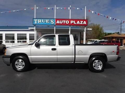 2005 Chevrolet Silverado 1500 for sale at True's Auto Plaza in Union Gap WA