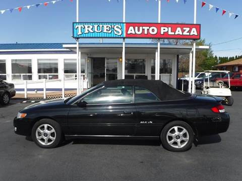 2001 Toyota Camry Solara for sale at True's Auto Plaza in Union Gap WA