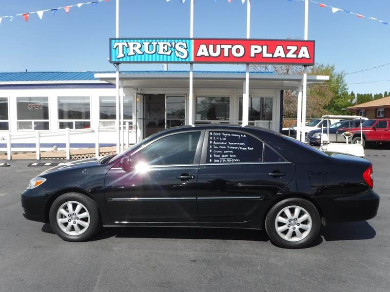 2002 Toyota Camry for sale at True's Auto Plaza in Union Gap WA