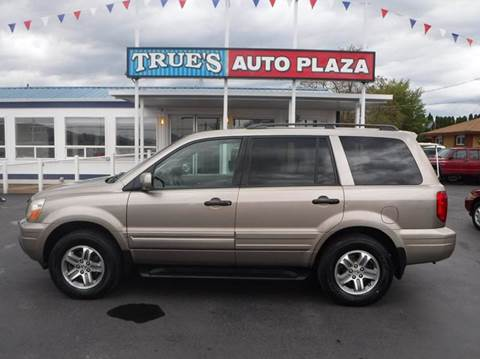 2005 Honda Pilot for sale at True's Auto Plaza in Union Gap WA
