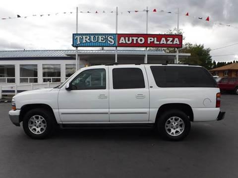 2001 Chevrolet Suburban for sale at True's Auto Plaza in Union Gap WA