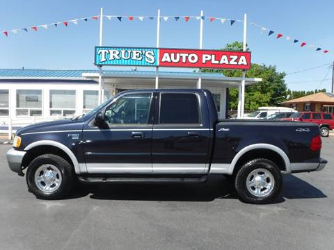 2001 Ford F-150 for sale at True's Auto Plaza in Union Gap WA