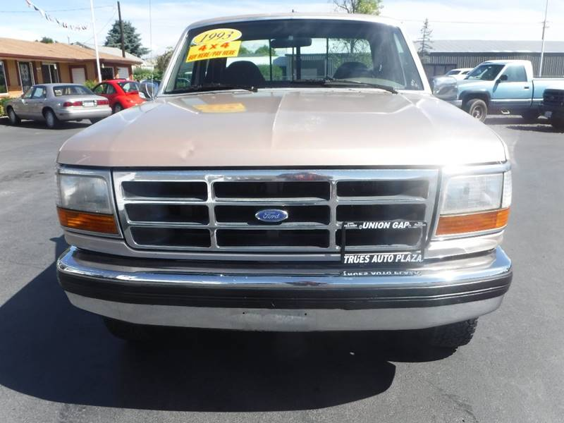 1993 Ford F-150 for sale at True's Auto Plaza in Union Gap WA