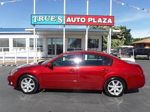 2004 Nissan Maxima for sale at True's Auto Plaza in Union Gap WA
