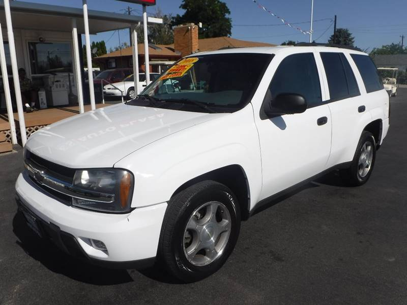 2008 Chevrolet TrailBlazer for sale at True's Auto Plaza in Union Gap WA