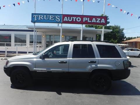 2000 Jeep Grand Cherokee for sale at True's Auto Plaza in Union Gap WA
