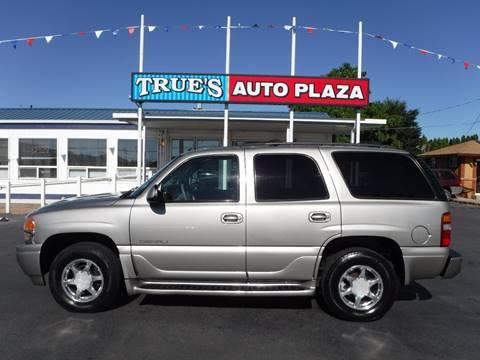 2003 GMC Yukon for sale at True's Auto Plaza in Union Gap WA