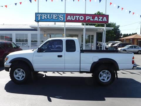2002 Toyota Tacoma for sale at True's Auto Plaza in Union Gap WA