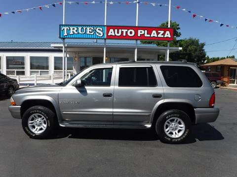2001 Dodge Durango for sale at True's Auto Plaza in Union Gap WA