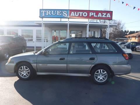 2001 Subaru Outback for sale at True's Auto Plaza in Union Gap WA