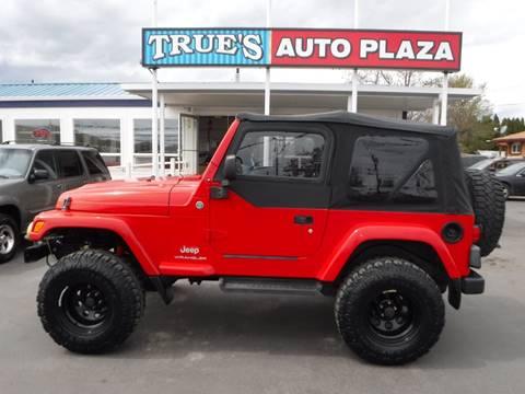 2005 Jeep Wrangler for sale in Union Gap, WA