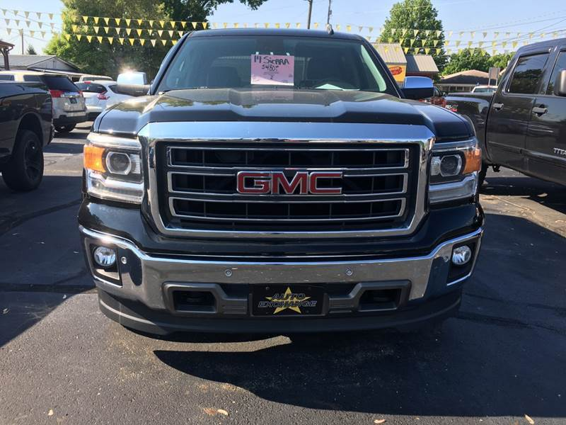 2014 GMC Sierra 1500 4x4 SLT 4dr Crew Cab 6.5 ft. SB - The Plains OH