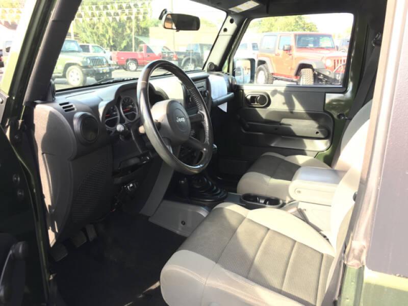 2007 Jeep Wrangler 4x4 X 2dr SUV - The Plains OH