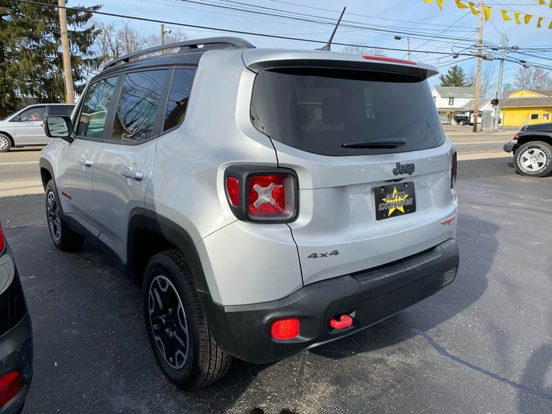 2015 Jeep Renegade 4x4 Trailhawk 4dr SUV - The Plains OH