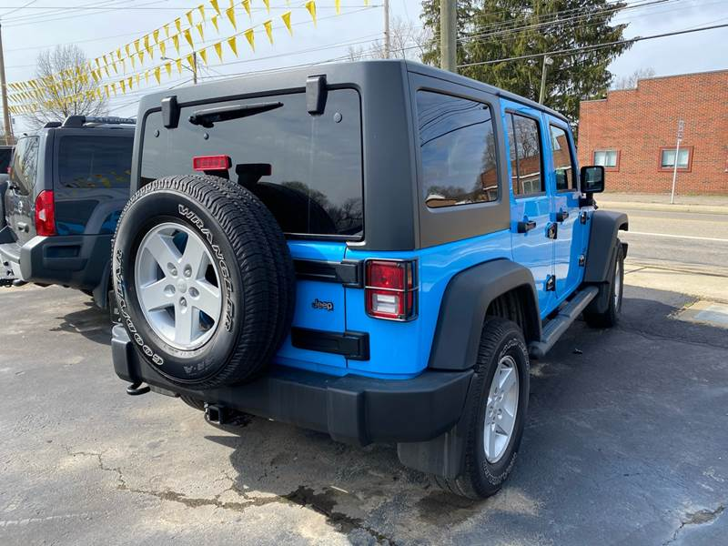 2017 Jeep Wrangler Unlimited 4x4 Sport 4dr SUV - The Plains OH