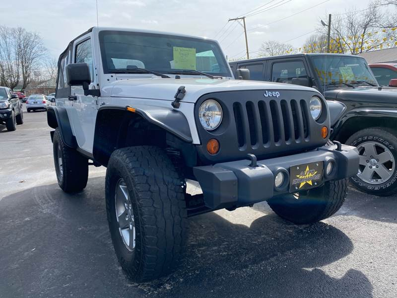 2012 Jeep Wrangler 4x4 Sport 2dr SUV - The Plains OH