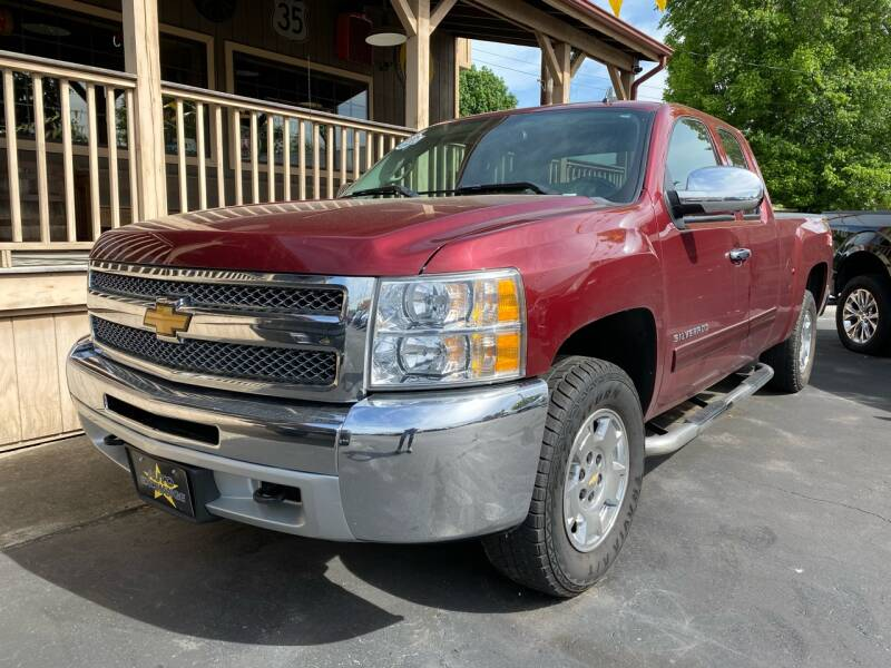 2013 Chevrolet Silverado 1500 4x4 LT 4dr Extended Cab 6.5 ft. SB - The Plains OH