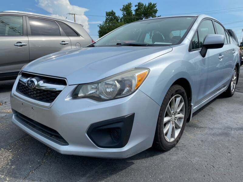 2012 Subaru Impreza AWD 2.0i Premium 4dr Sedan CVT - The Plains OH