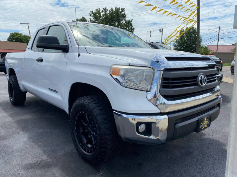 2014 Toyota Tundra 4x4 SR5 4dr Double Cab Pickup SB (4.6L V8) - The Plains OH