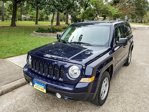 used 2015 jeep patriot for sale in houston tx. Black Bedroom Furniture Sets. Home Design Ideas