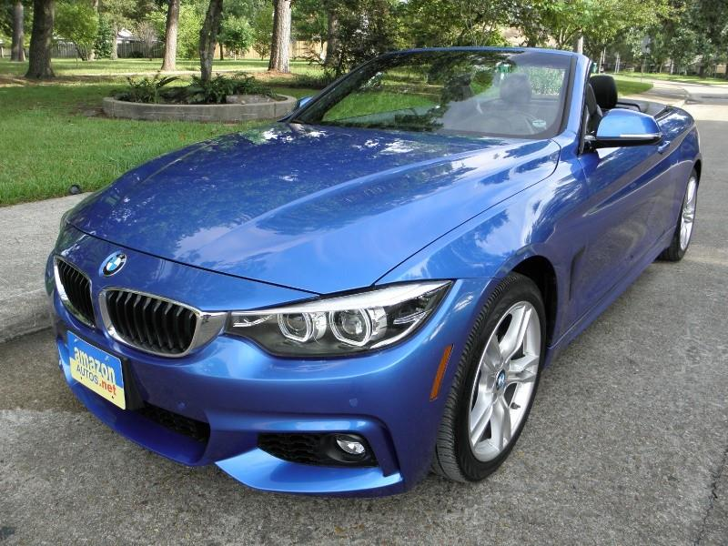 2018 bmw 4 series 430i 2dr convertible in houston tx. Black Bedroom Furniture Sets. Home Design Ideas