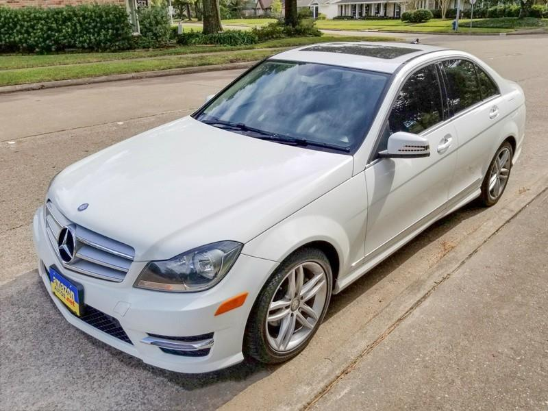 Exceptional 2013 Mercedes Benz C Class   Houston TX