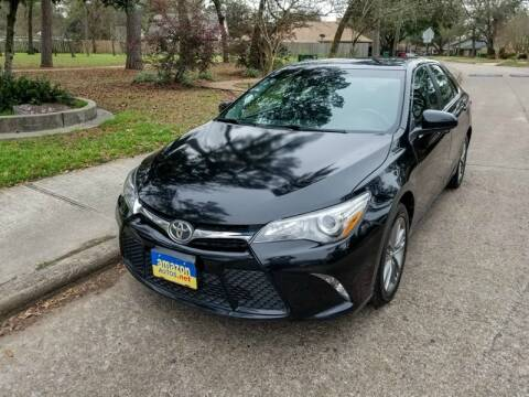2017 Toyota Camry for sale at Amazon Autos in Houston TX