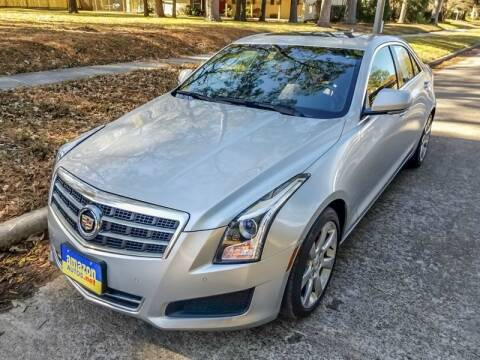 2014 Cadillac ATS for sale at Amazon Autos in Houston TX