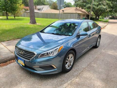 2016 Hyundai Sonata for sale at Amazon Autos in Houston TX