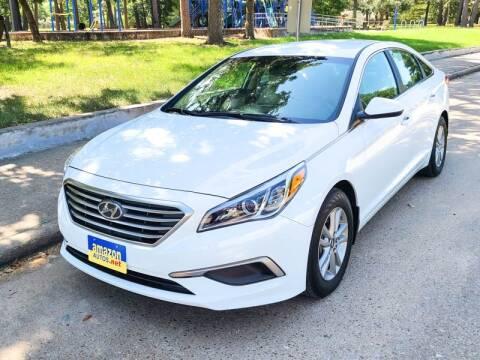 2017 Hyundai Sonata for sale at Amazon Autos in Houston TX