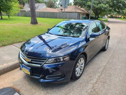 2017 Chevrolet Impala for sale at Amazon Autos in Houston TX