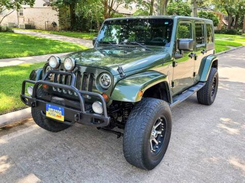 2008 Jeep Wrangler Unlimited for sale at Amazon Autos in Houston TX