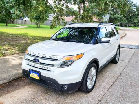 2015 Ford Explorer for sale at Amazon Autos in Houston TX