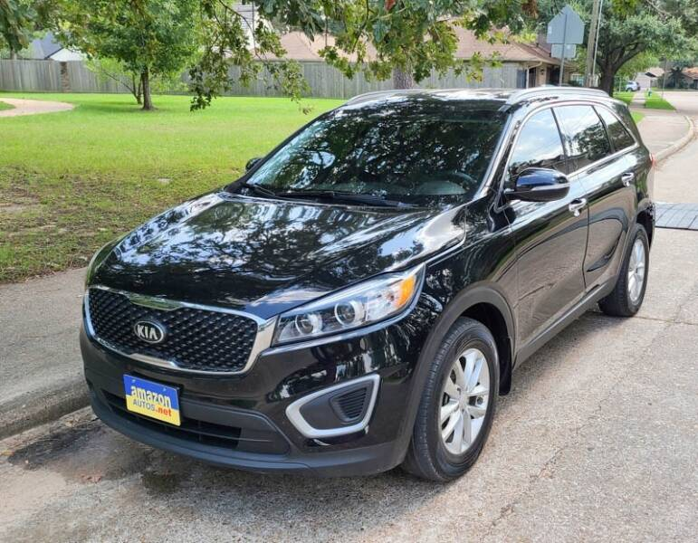 2017 Kia Sorento for sale at Amazon Autos in Houston TX