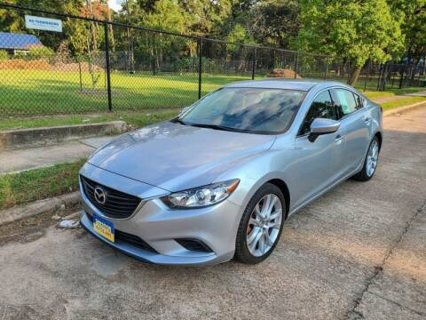 2016 Mazda MAZDA6 for sale at Amazon Autos in Houston TX