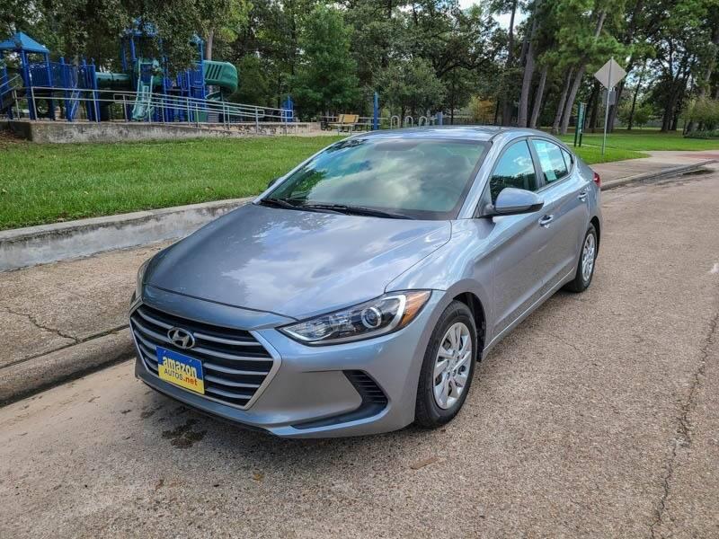 2017 Hyundai Elantra for sale at Amazon Autos in Houston TX