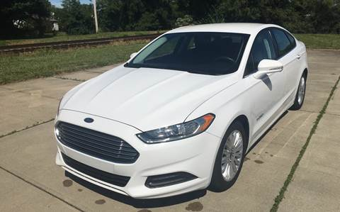 2015 Ford Fusion Hybrid for sale in Hamilton, OH