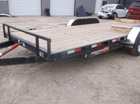 2019 H&H 82x20 tilt car hauler for sale in Lockridge, IA