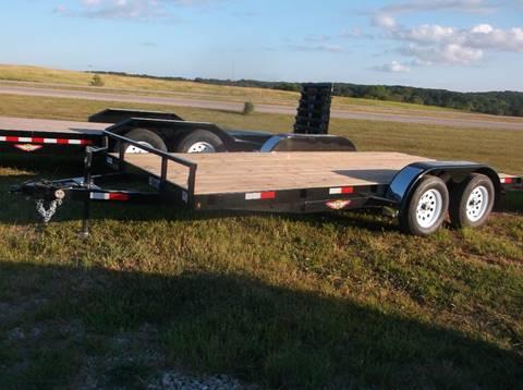 2019 H&H 18 x82 car trailer for sale in Lockridge, IA