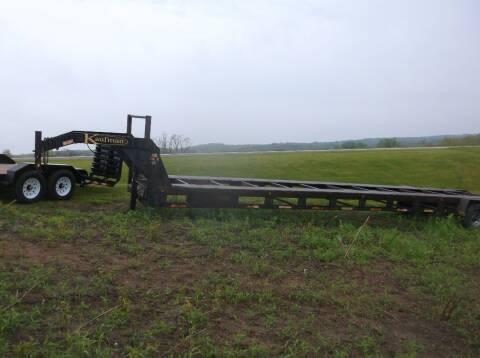 2012 Kaufman 34 foot car hauler for sale at PREFERRED AUTO SALES in Lockridge IA