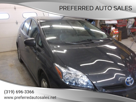 2010 Toyota Prius for sale at PREFERRED AUTO SALES in Lockridge IA