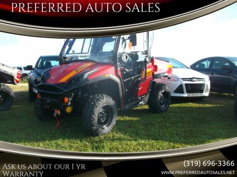 2020 Massimo T BOSS 1100LE for sale at PREFERRED AUTO SALES in Lockridge IA